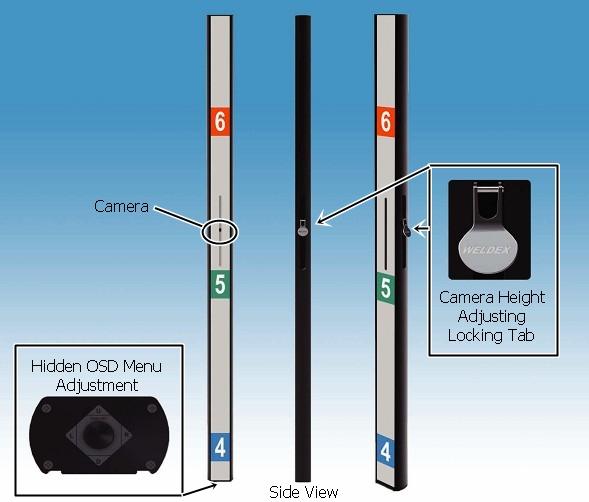 Wdc 4605xv Weldex High Resolution 600 Tvl Face View