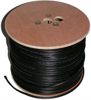 AVC102 Cable, RG-59 Coax with 18/2 Siamese Power Pair 1000 foot roll